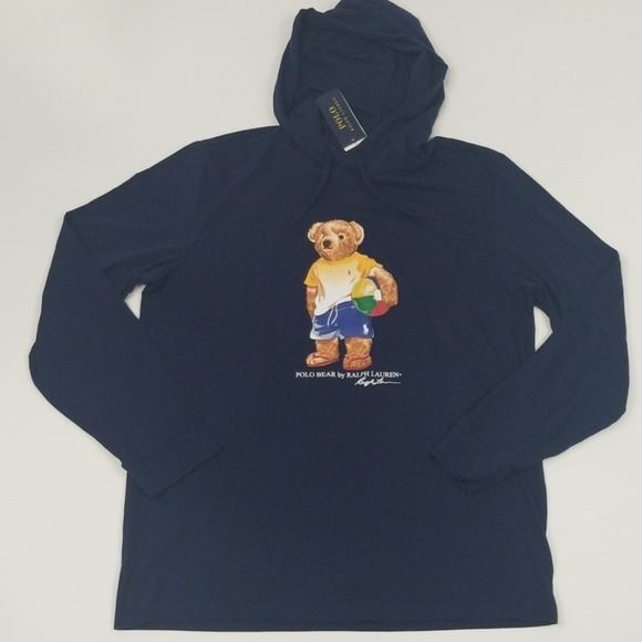 96df57ab4 Polo Ralph Lauren Bear Lightweight Hoodie